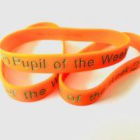 Orange wristband