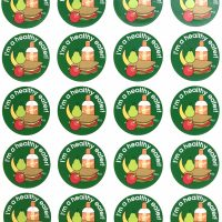 Sticker Healthy eater