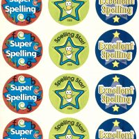 Sticker Spelling