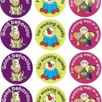 Sticker good behaviour