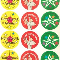Sticker homework