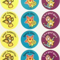 Sticker sports day