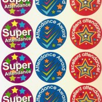 Sticker super attendance