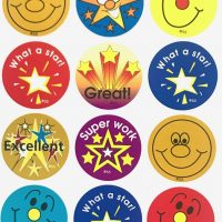 Stickers circle 10 pack