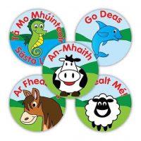 irish animals stickers