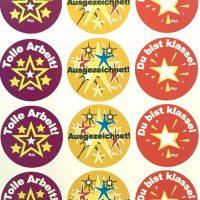 Stickers German Arbeit