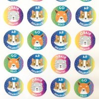 irish stickers animals