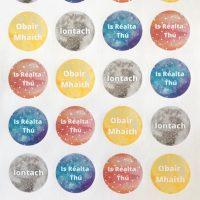 irish stickers space